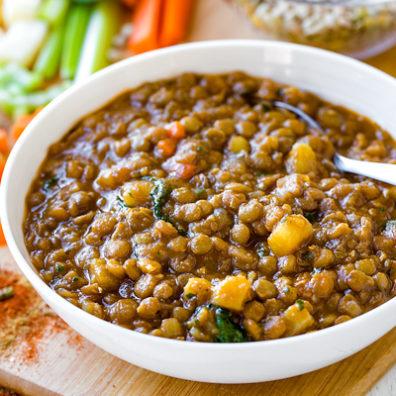 Lentil Soup - Deli Bite Catering