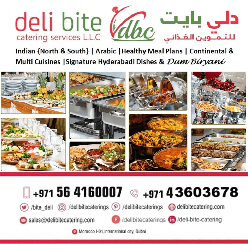 Indian Catering in Dubai