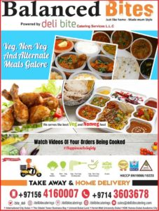Monthly Tiffin Home Styled Cooked Food Tiffin Service Dubai